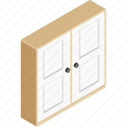 cabinet, closet, drawer, furniture, storage icon