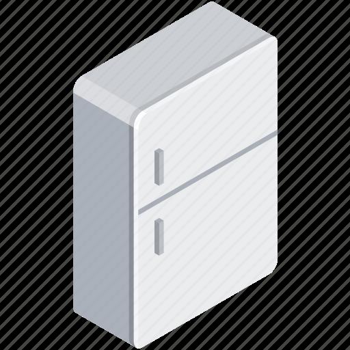 fridge, furniture, kitchen, kitchenware icon