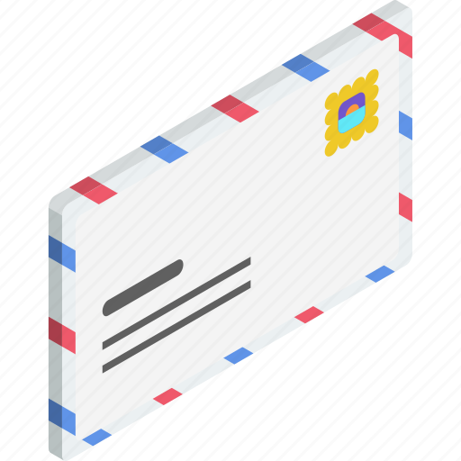 email, envelope, letter, mail, message, postage, postcode icon