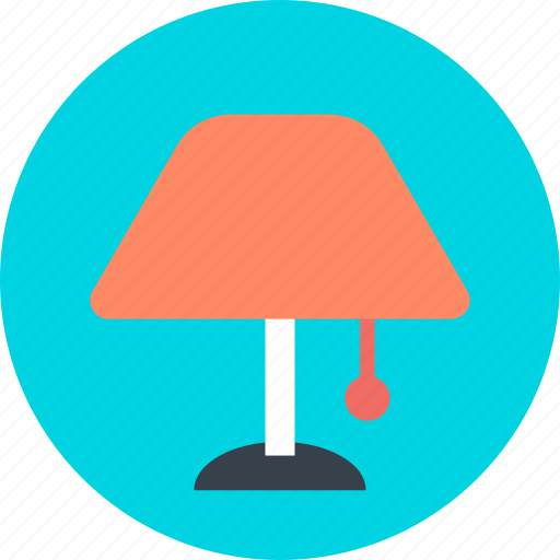 electric, electricity, lamp, light icon