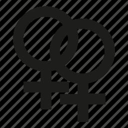 gender, lesbian, woman, woman sex icon