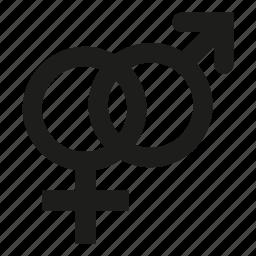 love, men, men sex, traditional, woman, woman sex icon