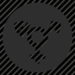arrow, gender, sign, symbolism, transgender icon