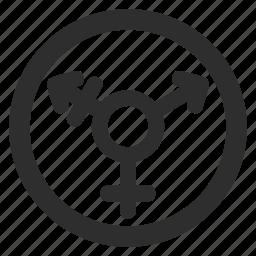 arrow, gender, genderqueer, relationship, transgender icon