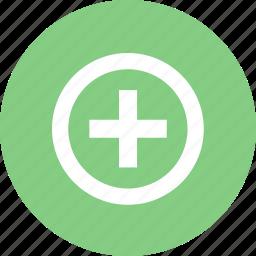 add, import, plugin icon