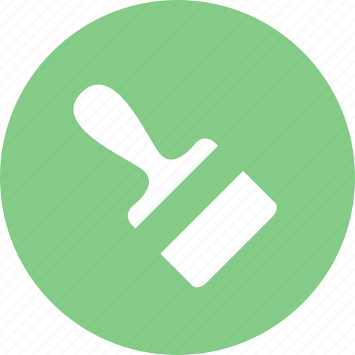 brush, clean, color, painting icon