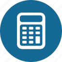accouting, calculator, count icon