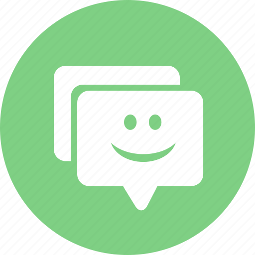 chat, reviews icon