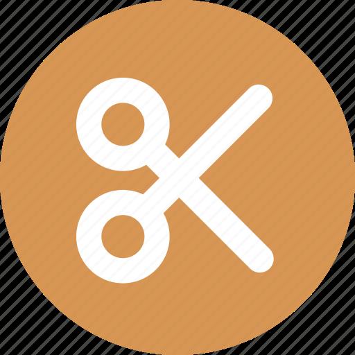 clip, cut, size icon