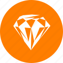diamond, resource, vip icon