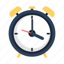 alarm, alarmclock, clock, travel icon