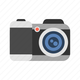 cam, camcorder, camera, kodak, photographic equipment, travel icon