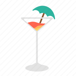 alcohol, beverage, cocktail, drink, mix drink, punch, soda icon