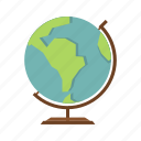 earth, globe, orb, planet, sphere, travel, world icon
