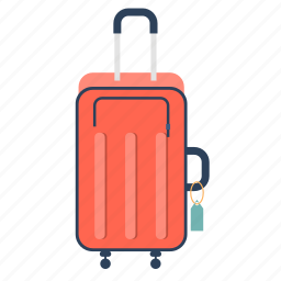 bag, baggage, impedimenta, luggage, suitcase, travel, travel luggage icon