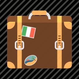 bag, baggage, case, luggage, suitcase, travel, valise icon