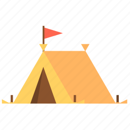 camp, camping, canopy, tent, travel, travel tent icon