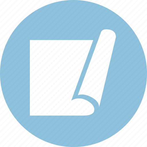 blueprint, drawing, page icon
