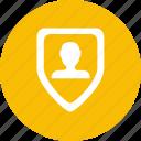 id, identity, privacy, token icon