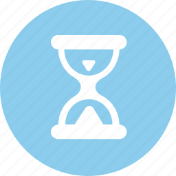 hourglass, idle, loading, processing icon