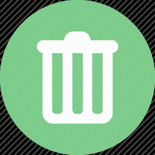 clear, delete, recycle bin, remove icon