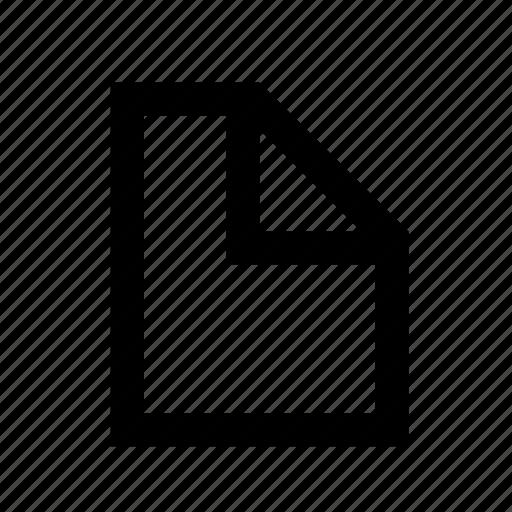 paper, utils, white icon