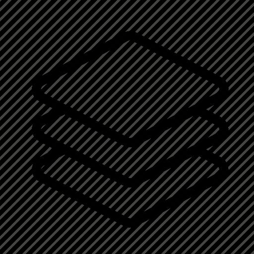 copy, design, layer, layers, stack icon