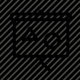 creative, design, grid, line, shape icon