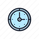 alarm, clock, general, time, timer, watch icon