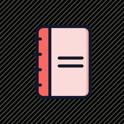 book, general, notebook, notepad, workbook icon