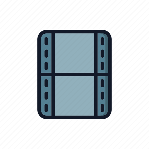 file, general, media, multimedia, video, view icon