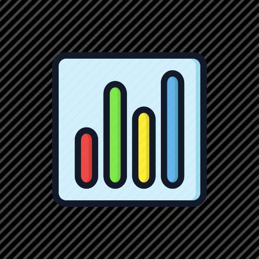 bar, charts, general, graph, market, profit, statistics icon