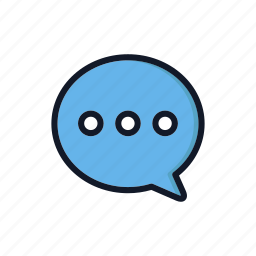 chat, general, speech, speechbubble, text, typing icon