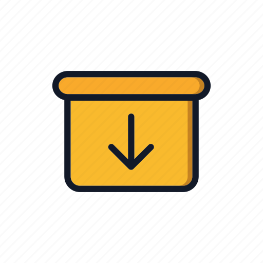 Box, cardboard, carton, download, general, package, packing icon - Download on Iconfinder
