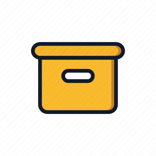 Box, carboard, carton, general, package, packing icon - Download on Iconfinder