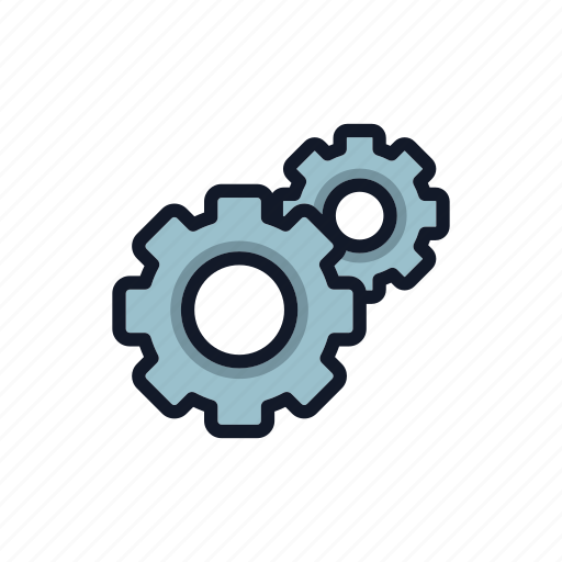 factory, gear, general, m, machine, mechanism, setting icon