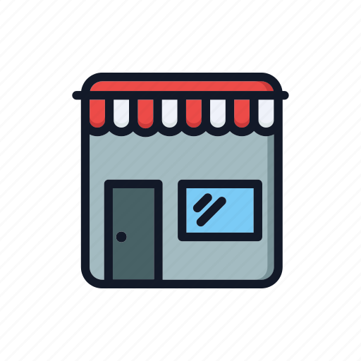 building, business, general, shop, shopping, store, storefront icon