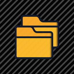 business, document, folder, folders, general, office icon