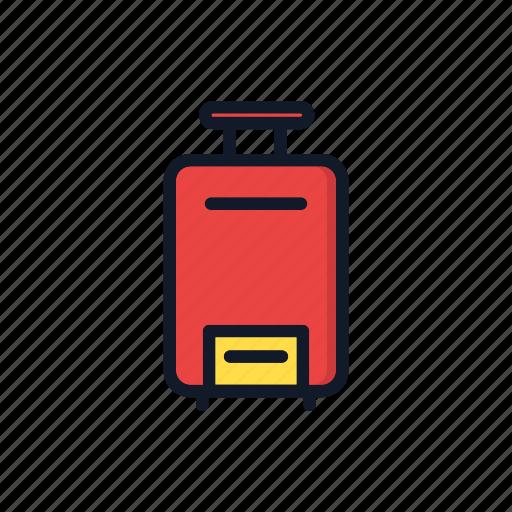 bag, baggage, briefcase, general, tourism, travel icon