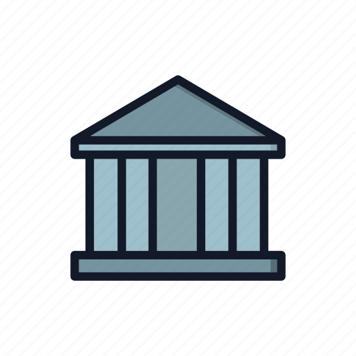 Architecture, bank, building, general, house, monument, warehouse icon - Download on Iconfinder