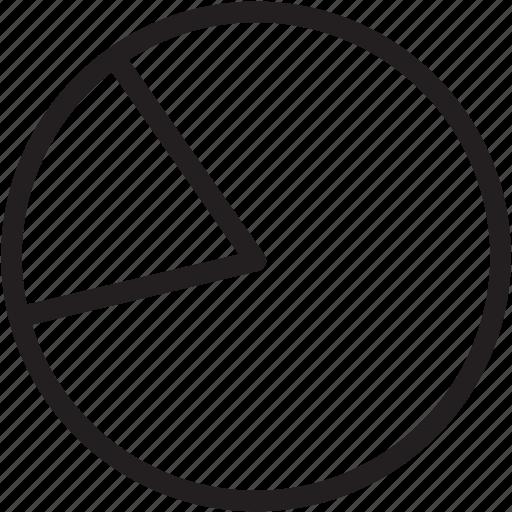 chart, general, graph, line, pie, pie chart, statistics icon