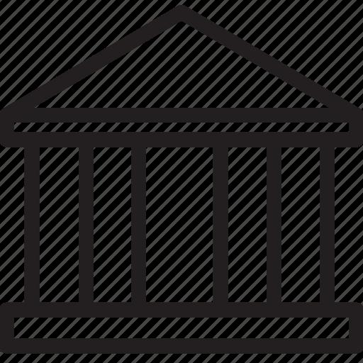 architecture, building, general, line, monument icon
