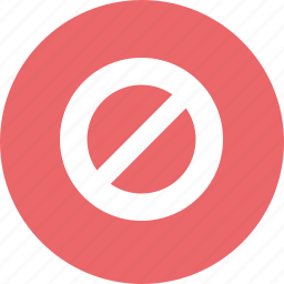 ban, prohibited, stop icon