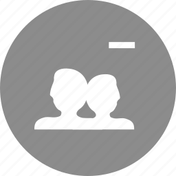 customers, peoples, users icon