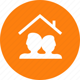 family, home, users icon