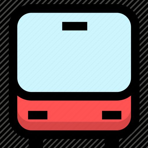 autobus, bus, transport, transportation icon
