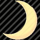 moon, night, sky icon