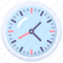 clock, time, zone icon