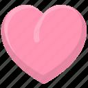 favorites, heart, love, valentine icon