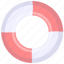 assist, help, lifebuoy, rescue, support icon